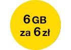 6 GB internetu za 6 zł na 60 dni