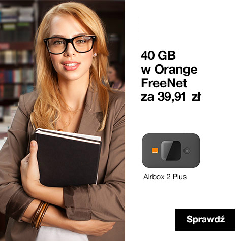 40 GB w Orange FreeNet za 49zł