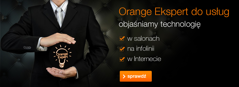 Orange Ekspert do usług