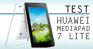 Huawei MediaPad 7 Lite - test tabletu