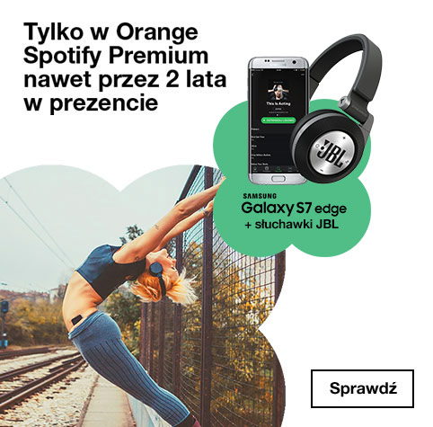Spotify Premium w prezencie od Orange